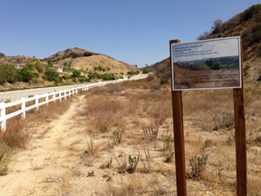 City of Redlands open space.